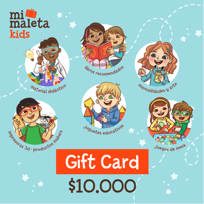 Gift Card $10.000 Mi Maleta Kids