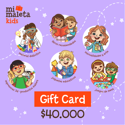 Gift Card $40.000 Mi Maleta Kids