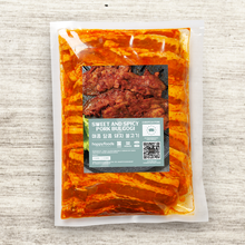 Load image into Gallery viewer, Sweet and Spicy Pork Bulgogi 500g 매콤 달콤 돼지 불고기