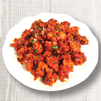 Sweet and Spicy Chicken (깐풍기)