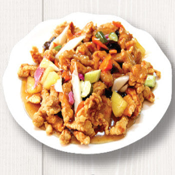 Sweet and Sour Chicken, Beef or Pork (탕수육)