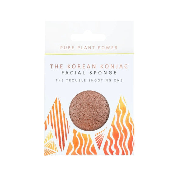 THE ELEMENTS FIRE - PURIFYING VOLCANIC SCORIA FACIAL SPONGE - Realness of Beauty