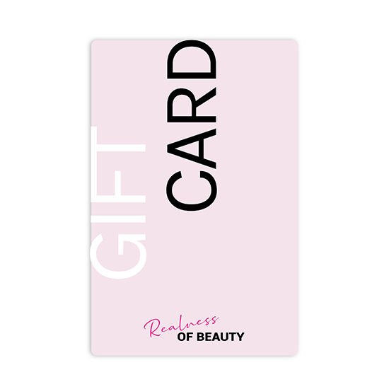 Gift card - Realness of Beauty