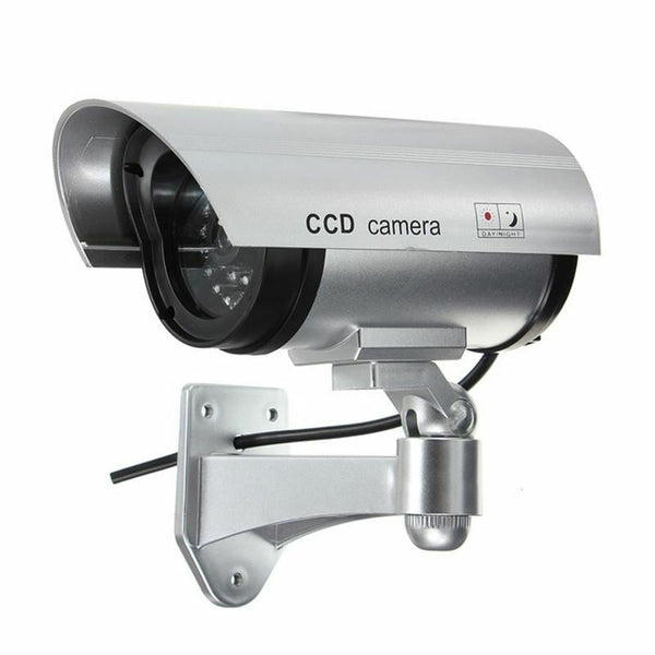 New CCTV Fake Security Surveillance Outdoor Indoor Waterproof Led Light Camera