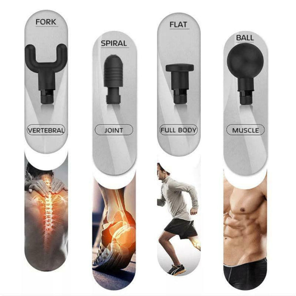 Fascial Massager Gun Exercising Muscle Pain Neck and Shoulder Massager