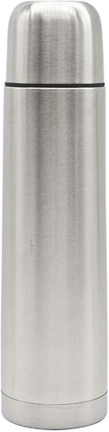 High Grade 18/8 Stainless Steel Vacuum Flask Silver Insulated Thermos