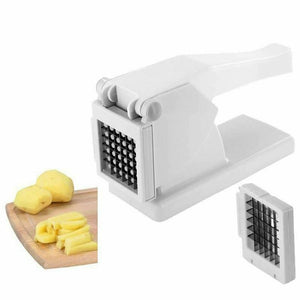 High Quality Potato Chipper Stainless Steel Blades Chrome French Fries Cutter