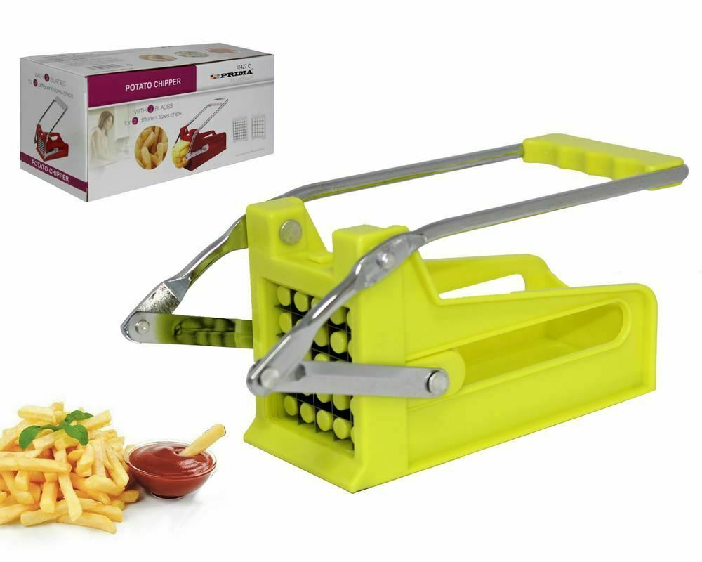 New Potato Chipper Vegetable Cutter Machine Slicer French Fries Onion Chopper