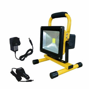 Outdoor Waterproof 20W Portable Emergency LED Rechargeable Flood Light 700Lumen