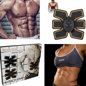 Trainer Abdominal Toning Muscle Toner Charminer Abs Smart EMS Fitness Belt
