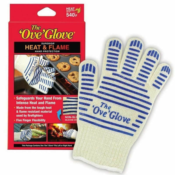 New The Ove Glove Heavy Duty Oven Glove Non Slip Silicone Grip Washable 540°F