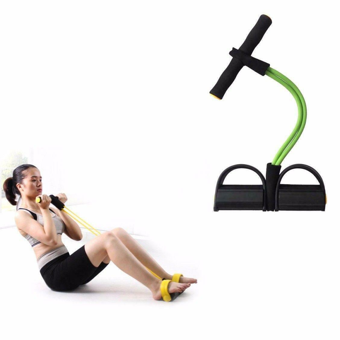 Home Workout Natural Latex Pedal Resistance Sit-up Pull Rope