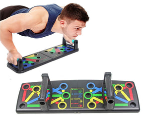 New Foldable Push Up Board Multifunctional Body Exercise Slimming Gym Training