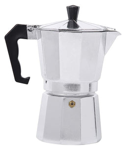 Aluminium Espresso Coffee Maker Italian Stove Top Percolator Moka Pot 6/9/12 Cup