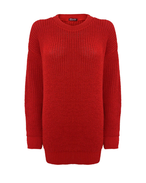 Red Baggy Jumper