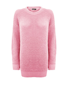 Baby Pink Baggy Jumper
