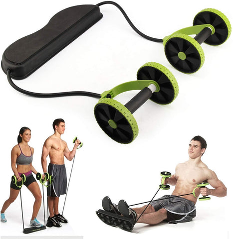 Revoflex Xtreme Abdominal Trainer Resistance Workout Machine Home Gym Exercise