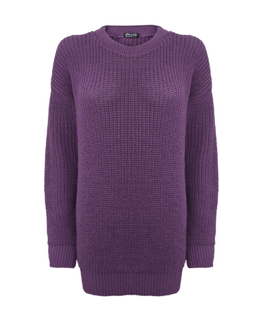 Purple Baggy Jumper