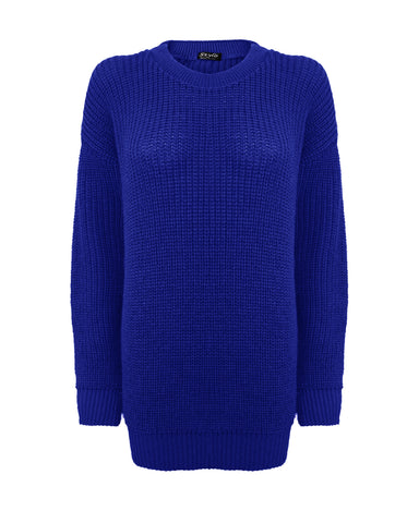 Royal Blue Baggy Jumper