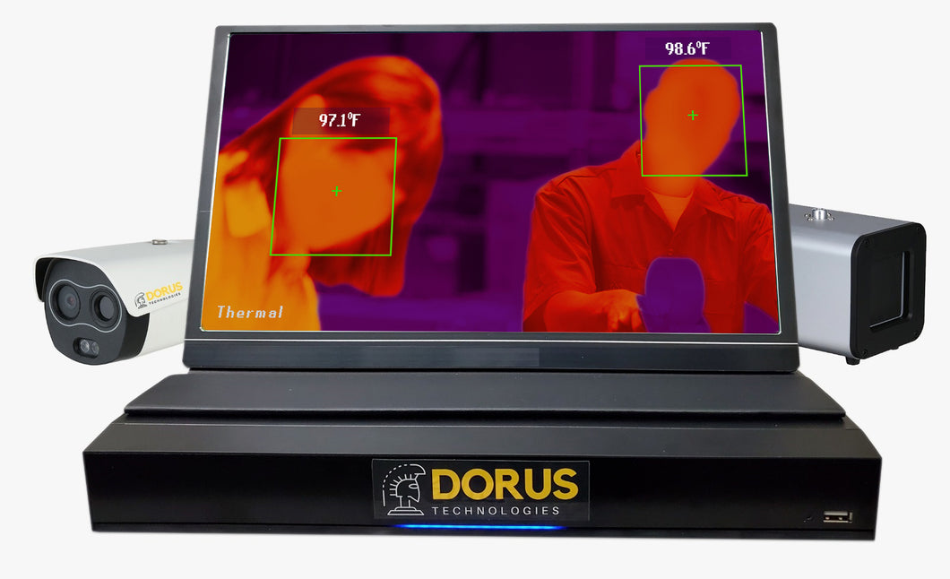 Thermal Camera & Human Body Temperature Measurement Kit. ±.3°C Dahua Technology DH-TPC-BF5421-T