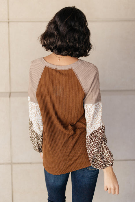 Autumn Printed Top