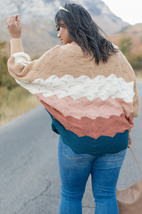 Designed For Details Sweater in Rust