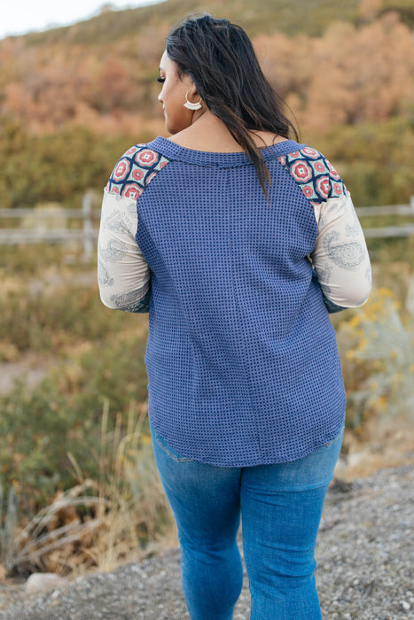 Playful Patterns Top