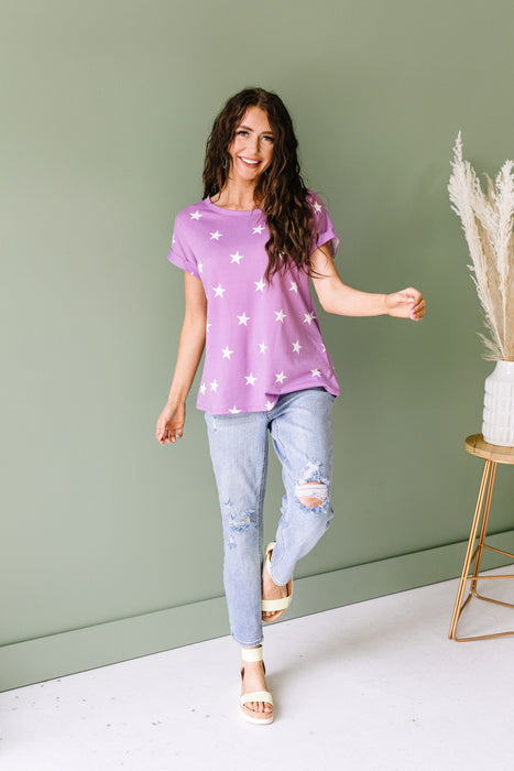 Star Of The Show Top In Lilac