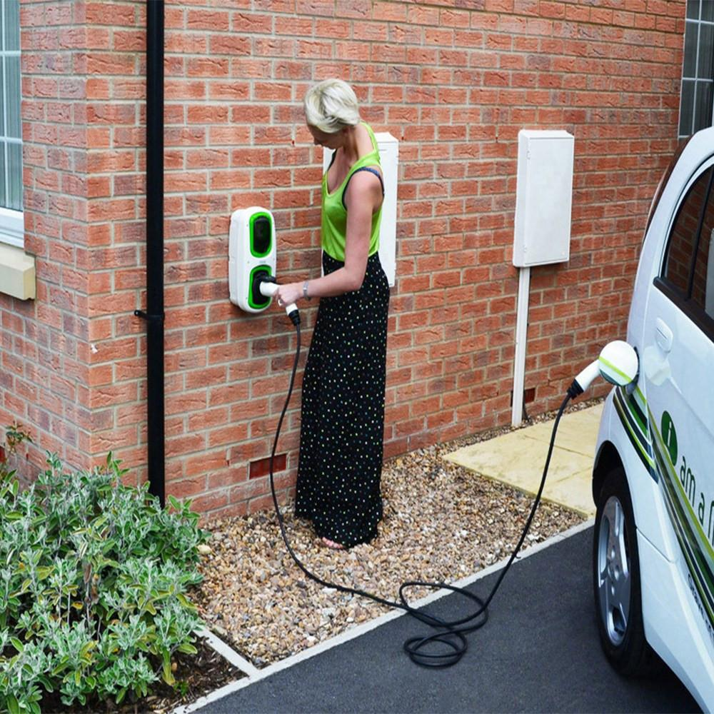 WallPod : EV Charging Unit | Type 2 Socket | 16/32 Amp(3.6/7.2kW) | IP65 |