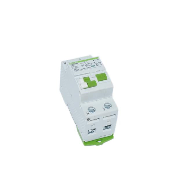 EV Switchgear - 40amp 30mA 1P+N 2Mod Type A - DC Sensitive  (10KA) RCBO