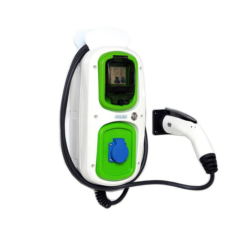 WallPod : EV Multi-Mode Europe type 1 tethered lead 5m