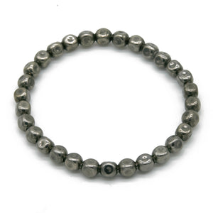 Stone Bracelet 6mm - halibutgioielli