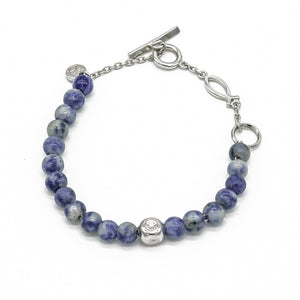 Atlantic New Blue Dot Bracelet - halibutgioielli