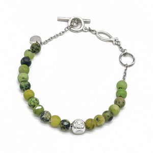 Atlantic New China Chrysoprase Bracelet - halibutgioielli