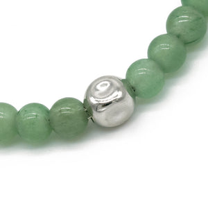 Atlantic Green Aventurine Bracelet - halibutgioielli