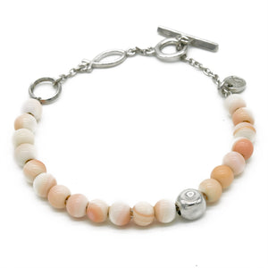 Atlantic Whelk Shell Bracelet - halibutgioielli