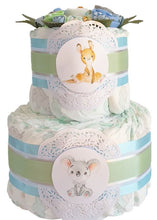 Load image into Gallery viewer, 2 Tier I Still Call Australia Home Nappy Cake