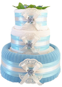 3 Tier Blanket & More Nappy Cake