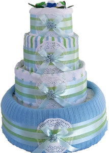 4 Tier Blanket & More Nappy Cake