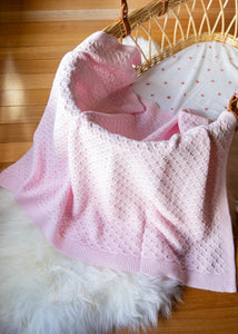 Classic Cotton Knitted Baby Blanket