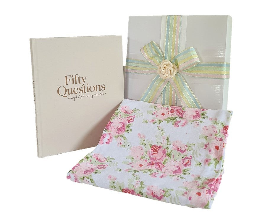 Gift Box - 18 Years of Cuddles - Vintage Peony