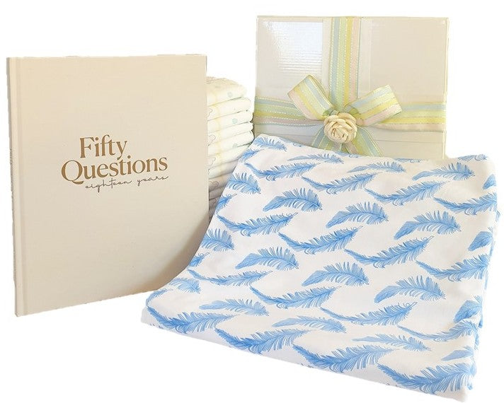Gift Box - 18 Years of Cuddles - Organic Feathers