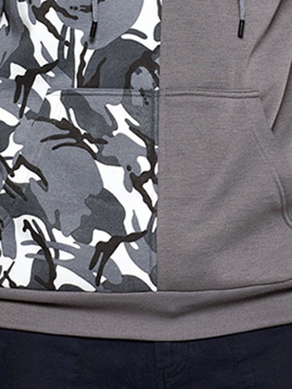 Pocket Pullover Camouflage Fall Pullover Hoodies