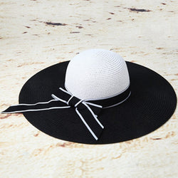 Bowknot Sun Hat Straw Plaited Article Fall Hats