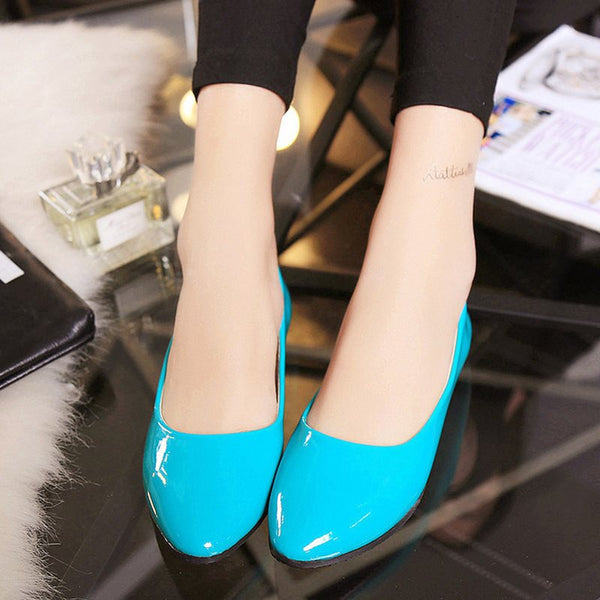 Block Heel Slip-On Round Toe Western Low-Cut Upper Thin Shoes