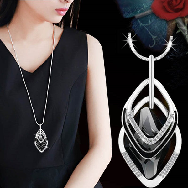 Pendant Necklace Plain Korean Female Necklaces