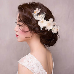Hair Comb E-Plating Plant Wedding Hair Accessories