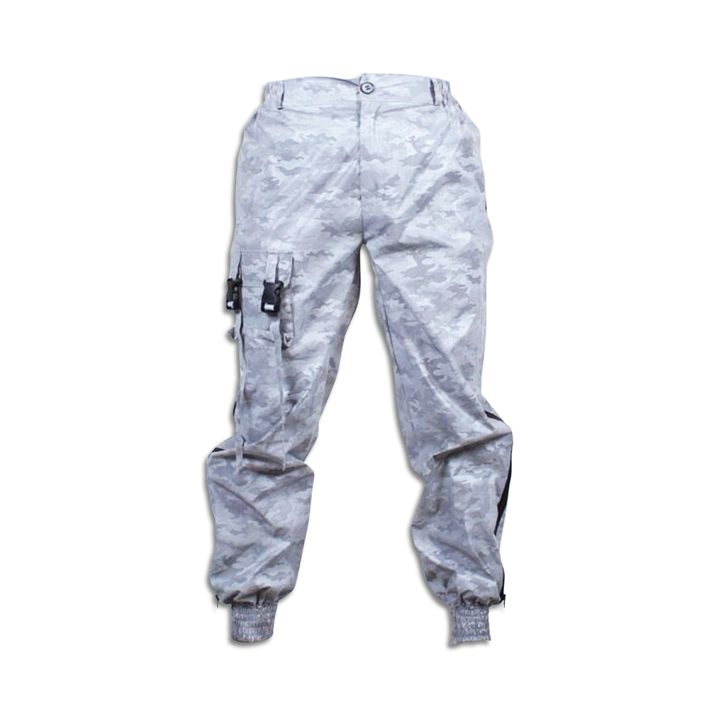 Glowcoco Camo Reflective Hip Hop Joggers - glowcoco reflective clothing