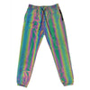 Glowcoco Unisex Track Pants - Rainbow Reflective - GLOWCOCO | Reflective Fashion