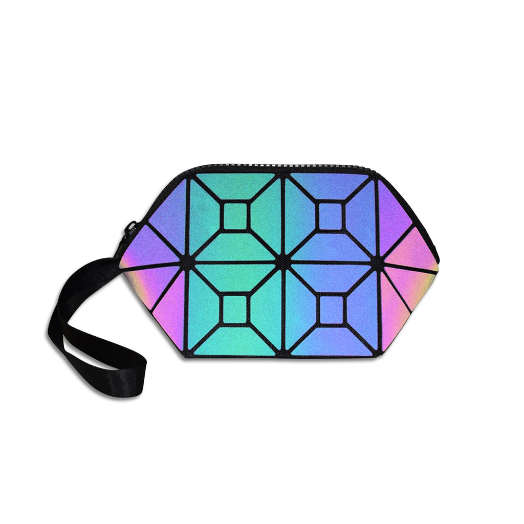 Glowcoco Holographic Makeup Bag - glowcoco reflective clothing